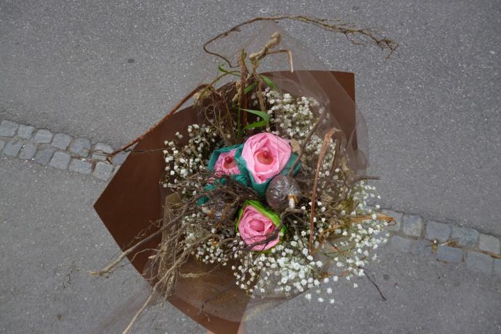 bouquet Annie Sprinkle Beth Stephens Donaufestival