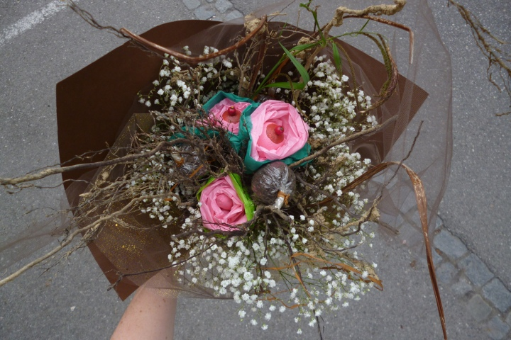Brautstrauß Annie Sprinkle